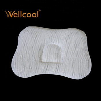 summer cool mesh baby mesh anti flat head baby pillow