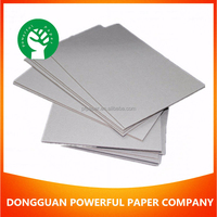 cheapest Grey Paperboard mix pulp Cardboard 1.5mm