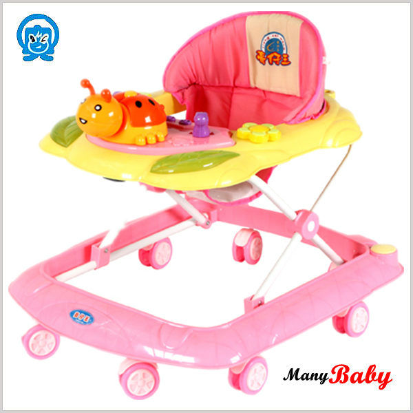 sell applicable colorful vintage baby walker strolee blue