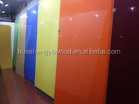 High gloss uv coating paint mdf for interior decorative
