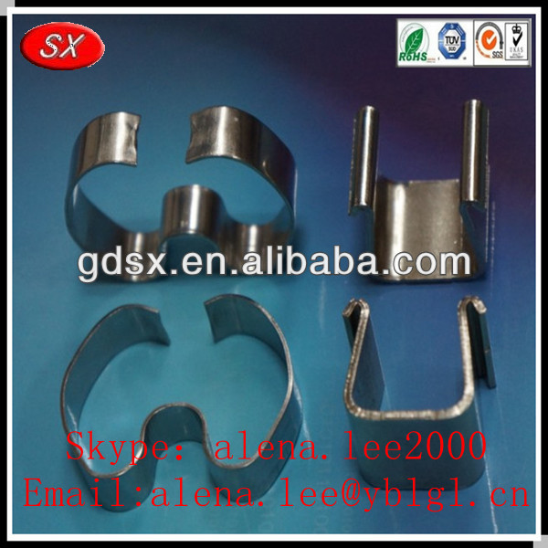 Customized factory stainless steel 304 metal brackets for pipes tube,round metal bracket