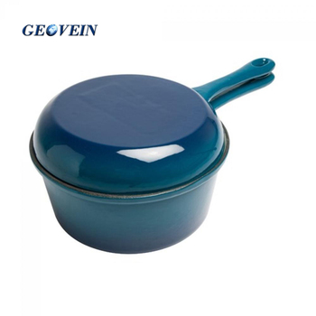 Japanese Enamel Cast Iron Double Side Casserole Dish Pot