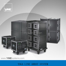 YOGA E Active Sys 3 high power dj active pa outdoor sound system line array sound system