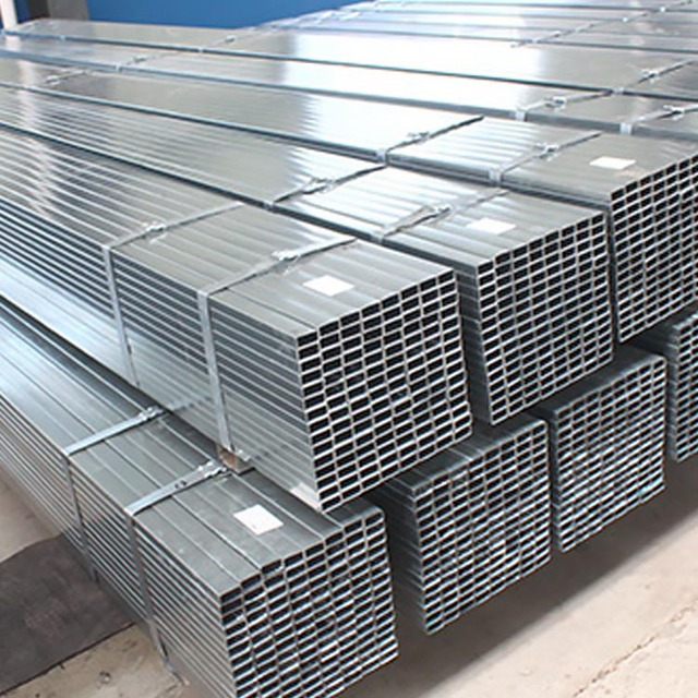 China manufacturer gi hot rolled galvanized square pipes