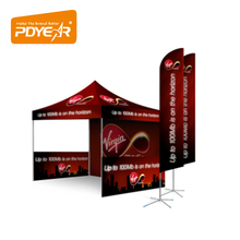 Trade Show Tent Event Canopy Market Stall Both Outdoor Canopy tent advertising folding tent