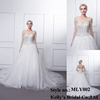 western style attractive price with high quality and fashionable breathable customized wedding dress