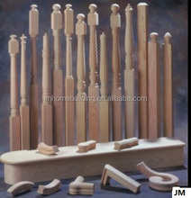 wooden stair baluster/newel/handrail/tread other parts