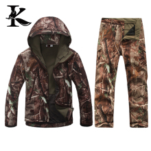 Waterproof Hunting jacket camouflage Waterproof hunt Pants hunting suit
