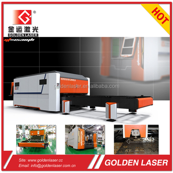 fiber laser cutter 3kw for stainless steel, mild steel, aluminum sheet with removable pallets
