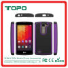 [TOPO] Ballistic Case Best Selling TPU PC Silicone Material combo shockproof football skin phone cover case for LG H500F