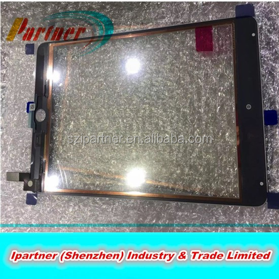 Wholesale front glass For ipad mini4 touch screen repair