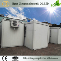 Good Performance Modified Steady 20Ft Portable Shipping Frame/Prefabricated Container House (Office And Live)
