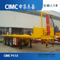 40ft Container Tipping Trailer With Hydraulic Lift