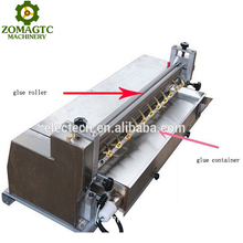 Stainless Steel Table Top Paper Hot Melt Glue Gluing Machine