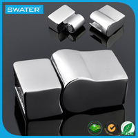 New Design Stainless Steel Slide Clasp , Metal Clasp For Bracelet