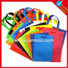 Cheapest price in non woven bag promotion shopping bags.