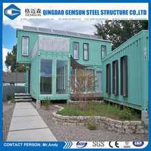 Popular prefabricated container house/camp/ office with kitchen/ toilet