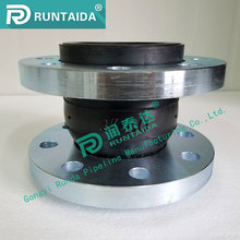 Flange type DN100 pn16 single sphere rubber expansion joint