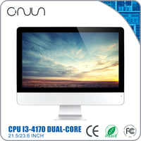Wholesale lcd computer 8GB ddr3 21.5 inch all in one x86