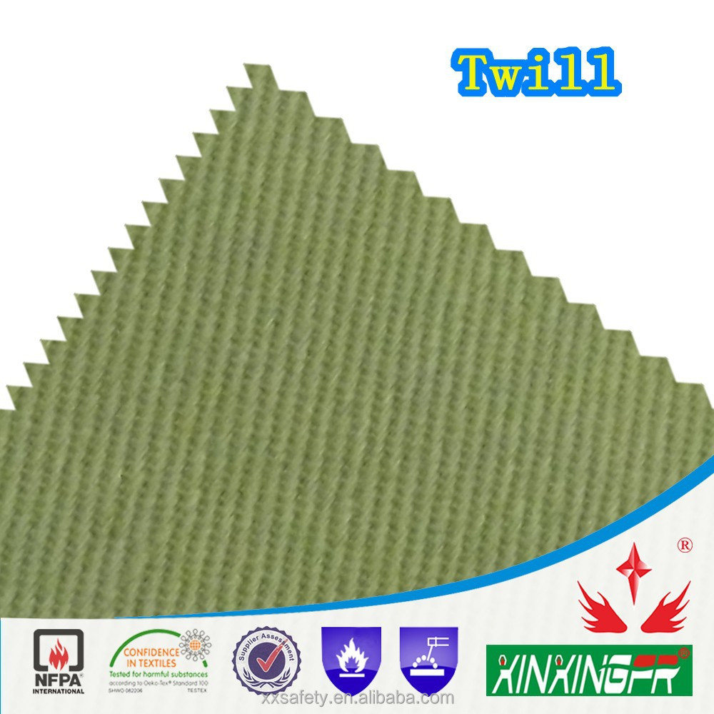 400gsm 10*7yarn 100 cotton permanent flame resistant coated formaldehyde free fabric for safety clothing