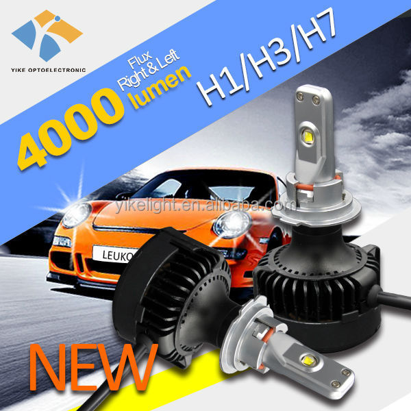Car led light headlight h7 h9 h11 led headlight with canbus for BMW X1 X3