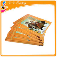Top Quality Price Medium Sewn Bound Hardcover Book Printing With Film Lamination