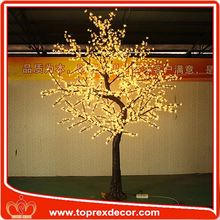 Maunfactory outdoor lighted twig christmas trees