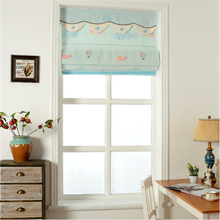Fashion fabric Roman blinds roller blinds with valance