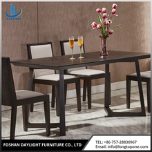 Fashion dining room furniture solid oak furniture dining table set