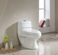 8031 Cheap one piece Wash-down toilet, floor mounted Water Closet Toilet