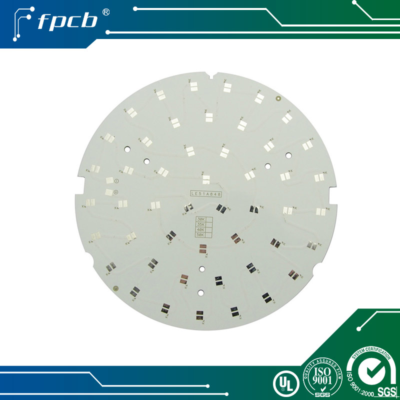 Single layer MC PCB printed circuit board aluminum base for led downlight