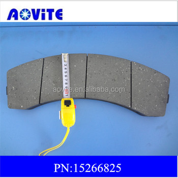 Brake lining 15266825 for terex dump truck TR60 /TR70