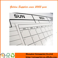 hot sale recyle wall calendar in office
