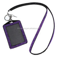 Factory Price Bling ID Badge Holder