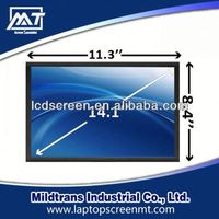 100% original replacement Laptop LCD screen B141EW01 V.2 laptop lcd screen guard for 14.1 inch notebook