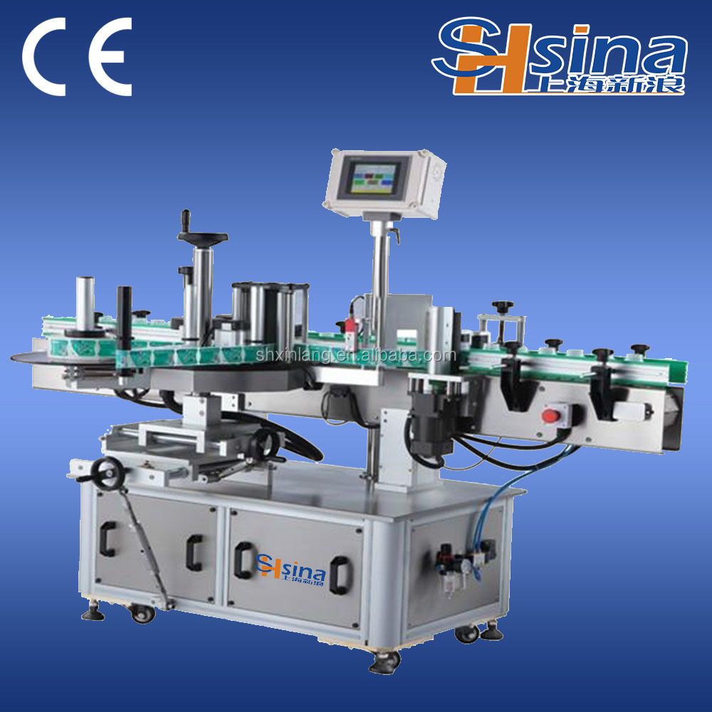 automatic label sticking machine heat transfer label machine