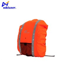 Reflective hiking camping waterproof backpack rain cover led bag