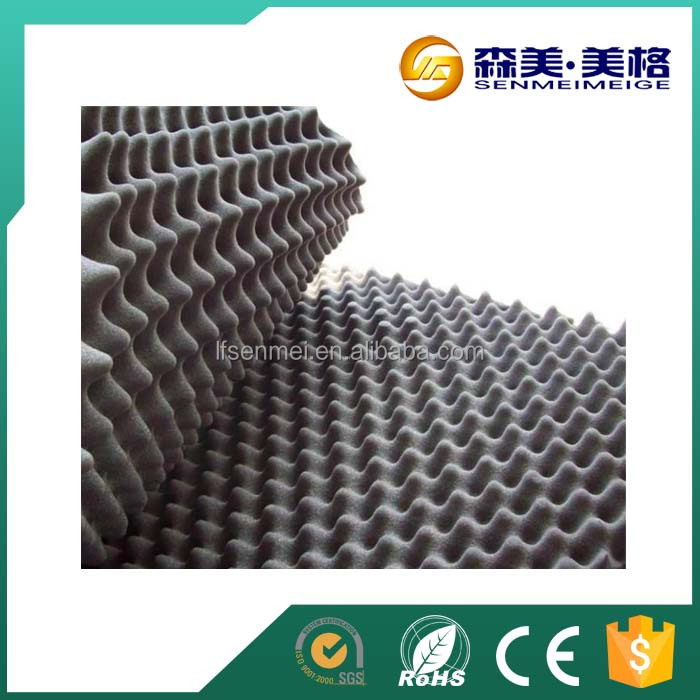 Low conductivity soundproof soft plastic nbr rubber foam sheet