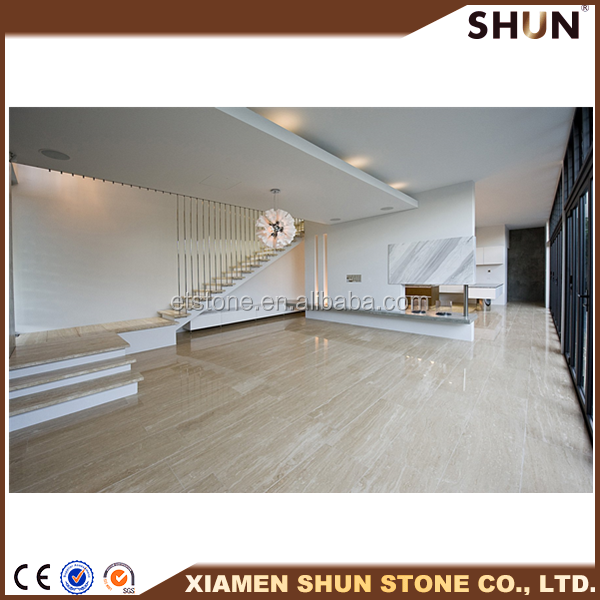 Natural stone tavera beige marble floor tiles , Beige travertine marble low price,Beige marble slabs