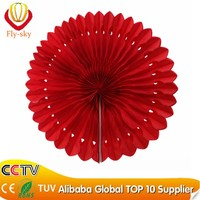 party events decoration honeycomb paper fan