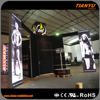 good outdoor china aluminum extrusion trade show booth