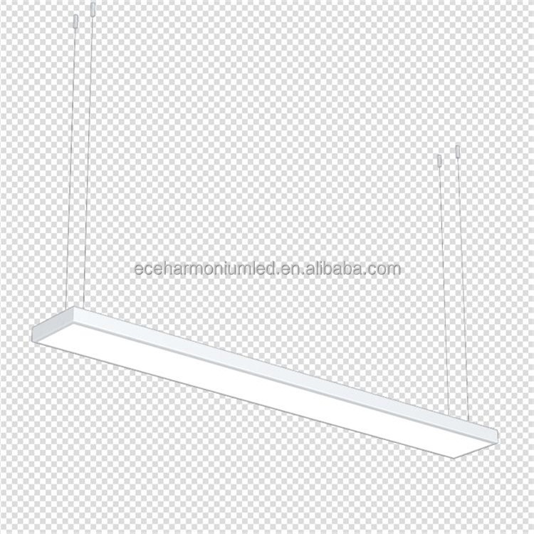 LED Panel Light 150x1200 37W Zero flicker Internal driver 100-130lm/w Emergency (optional) Dimmable (optional) PF>=0.95