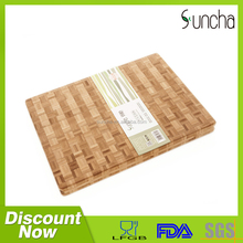 High Quality Bamboo Cutting Board / 1-3.5cm Thickness Custom Carved Bamboo Serving Board