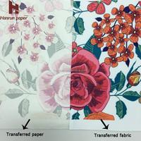 55gsm economic type heat sublimation transfer paper rolls textile printing