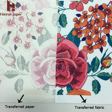 55gsm economic type heat sublimation transfer paper rolls textile printing