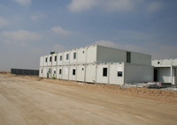 movable prefab flat new style widely used low cost steel container house