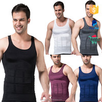 Men Plus Size Body Shaper Tummy Slimming Vest