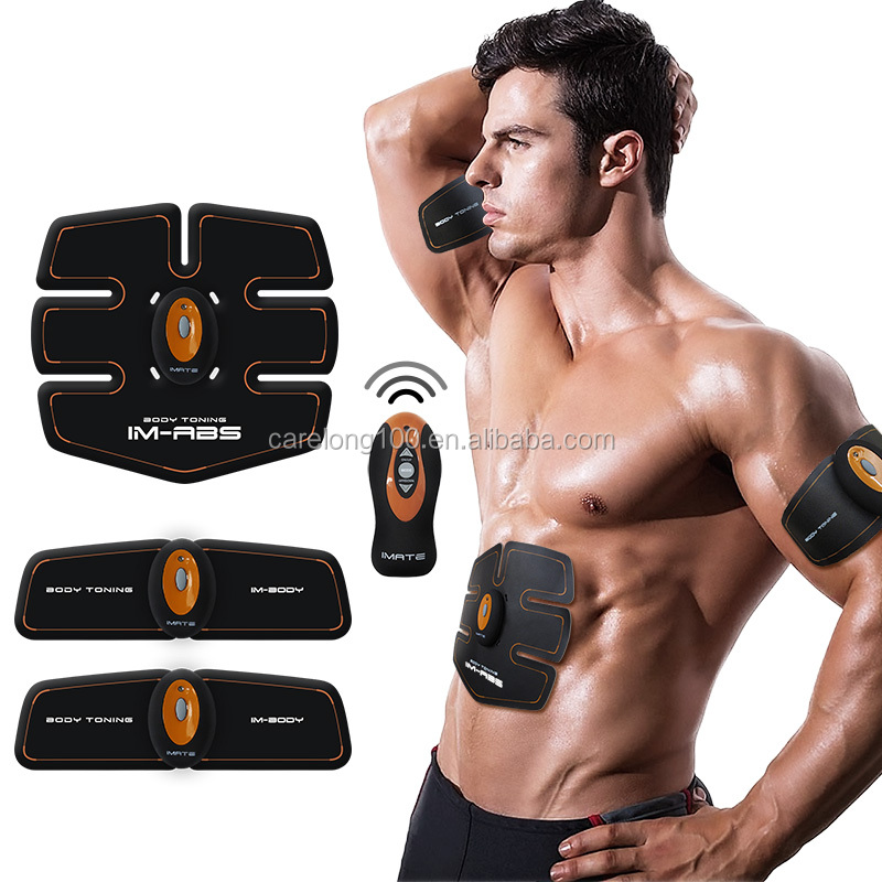 EMS Slimming massager wireless control,body fit tone exercise machine