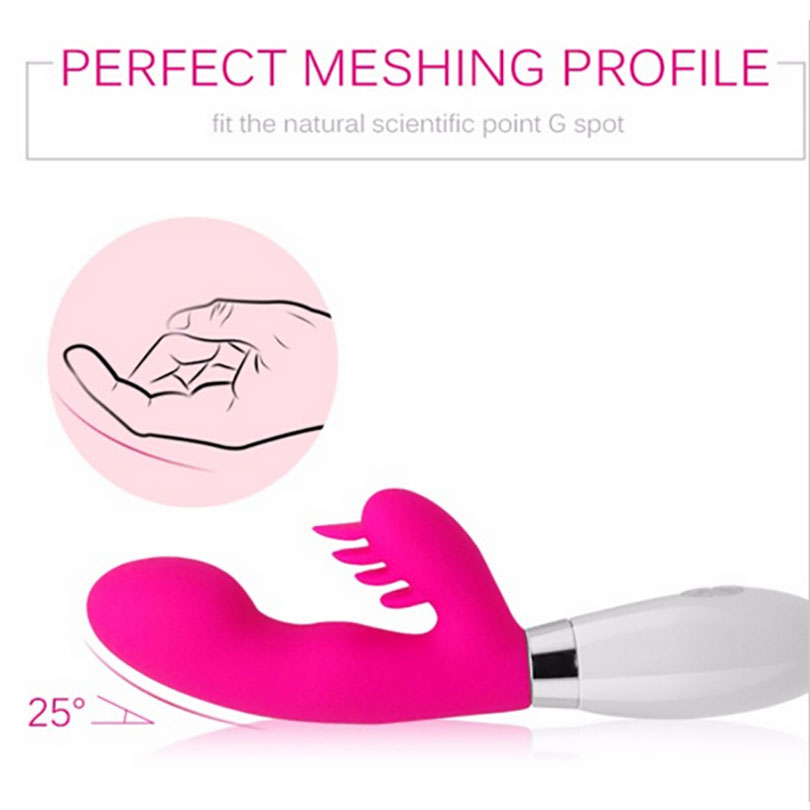 Attractive Silicone Vibrator Hot Selling Women Sex Toys Free Samples