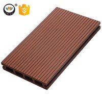 Hot Sale Water Proof Wood Plastic Composite WPC Decking Outdoor Flooring